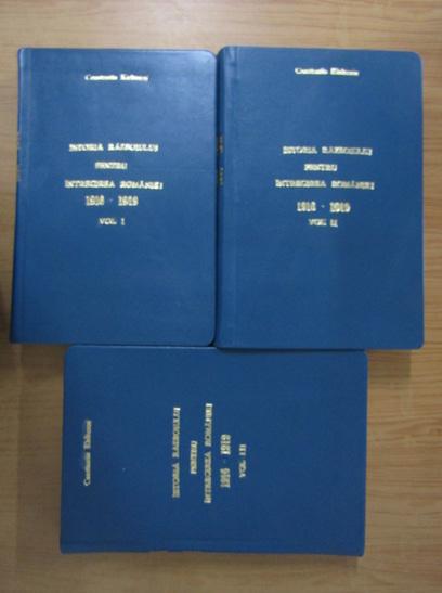 Anticariat: Constantin Kiritescu - Istoria Razboiului pentru intregirea Romaniei 1916-1919 (3 volume, 1925)