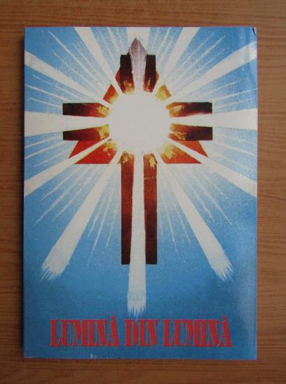 Anticariat: Ion Lazar - Lumina din lumina