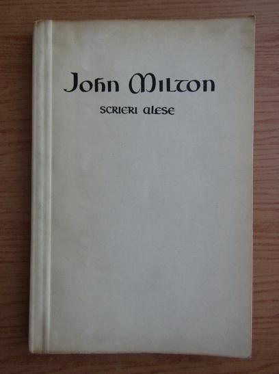 Anticariat: John Milton - Scrieri alese
