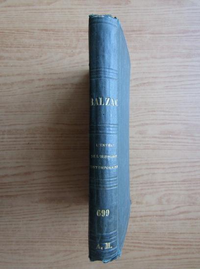 Anticariat: Honore de Balzac - L'envers de l'histoire contemporaine (1864)