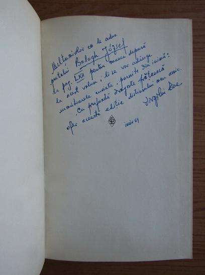 Anticariat: N. D. Cocea - Scrieri (volumul 1, cu autograful lui Virgiliu Ene, bibliograf)