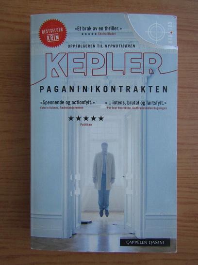 Anticariat: Lars Kepler - Paganinikontrakten