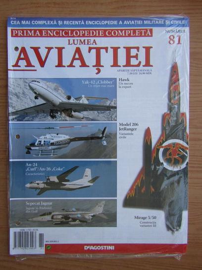 Anticariat: Lumea aviatiei, nr. 81