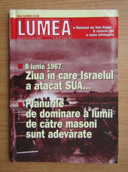 Anticariat: Revista Lumea, an XIX, nr. 10 (247), 2013