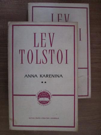 Anticariat: Lev Tolstoi - Anna Karenina (2 volume)