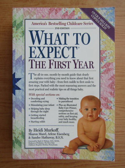 Anticariat: Heidi Murkoff - What to expect the first year
