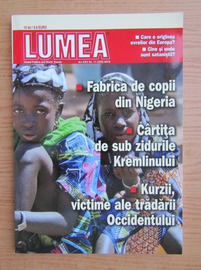 Anticariat: Revista Lumea, an XXV, nr. 11 (320), 2019