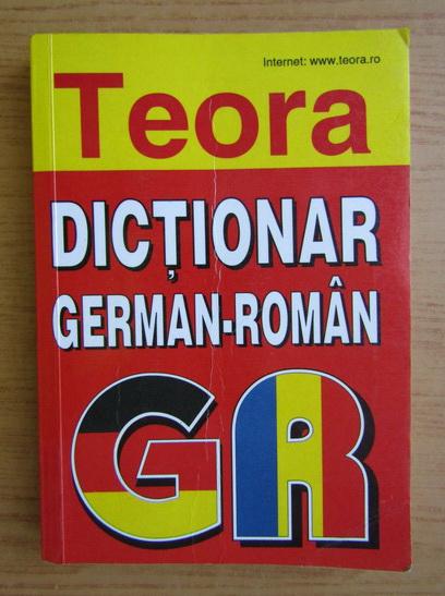 Anticariat: Dictionar german-roman
