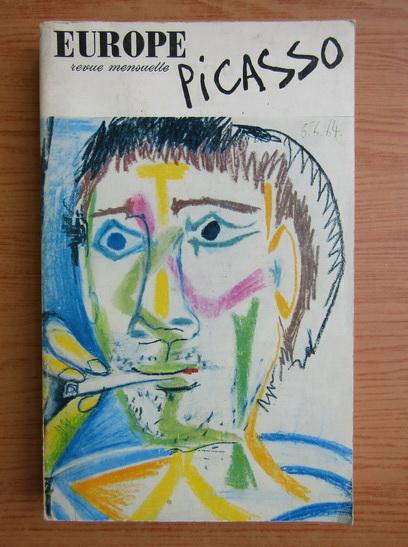 Anticariat: Europe. Revue mensuelle. Picasso