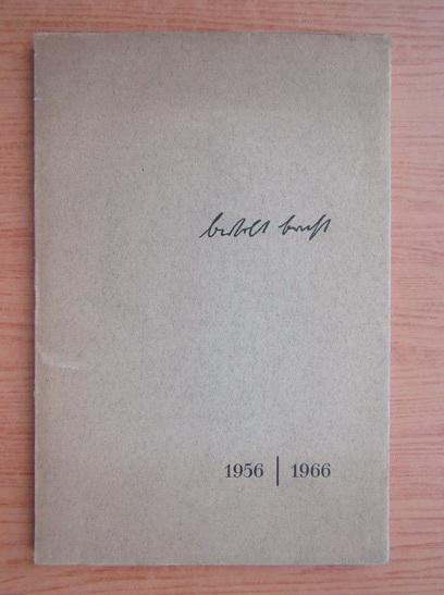 Anticariat: Bertolt Brecht
