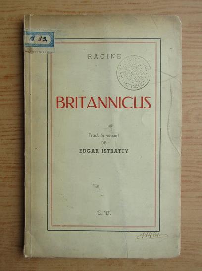 Anticariat: Racine - Britannicus (1941)