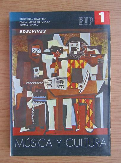 Anticariat: Musica y cultura 1 BUP