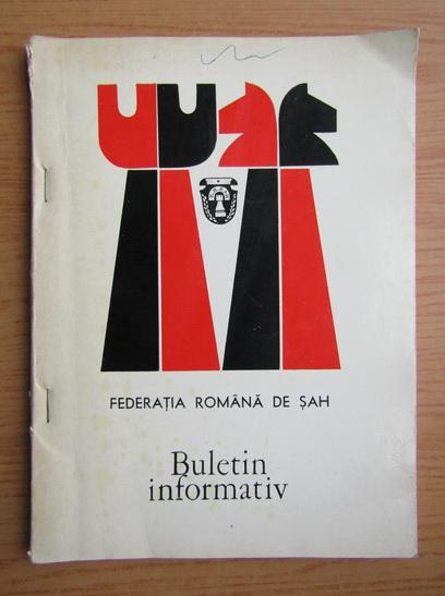 Anticariat: Federatia romana de sah. Buletin informativ, nr. 3 februarie 1976