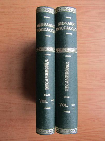Anticariat: Giovanni Boccaccio - Decameronul (2 volume)