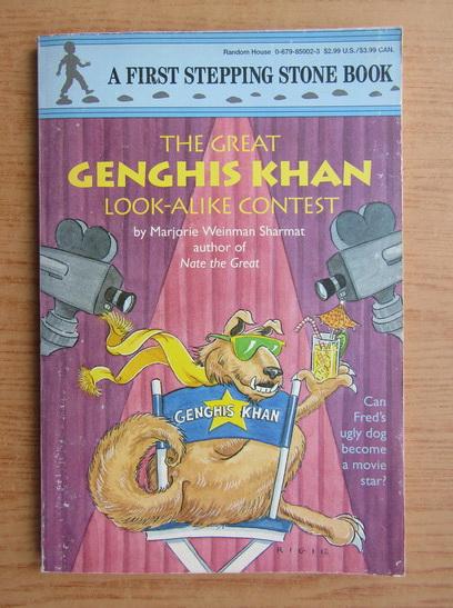 Anticariat: Marjorie W. Sharmat - The great Genghis Khan