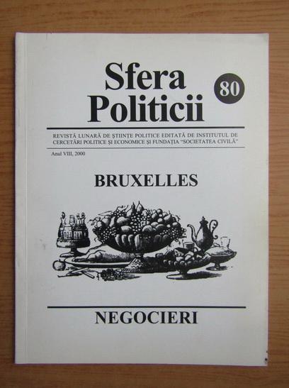 Anticariat: Revista Sfera Politicii, anul VIII, nr. 80, 2000