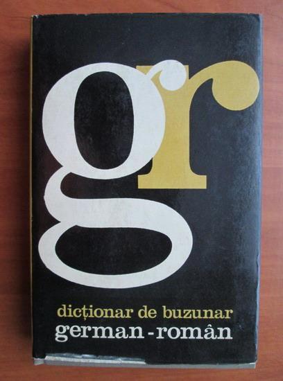 Anticariat: Alexandru Roman - Dictionar de buzunar german-roman