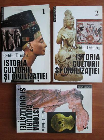 Anticariat: Ovidiu Drimba - Istoria culturii si civilizatiei (volumele 1, 2, 3)