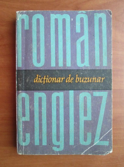 Anticariat: Serban Andronescu - Dictionar de buzunar roman-englez
