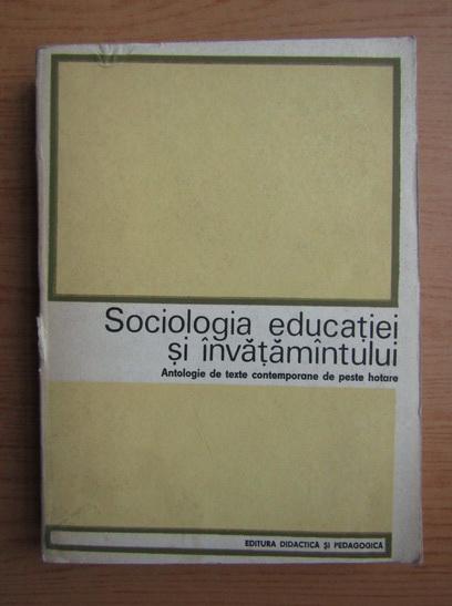 Anticariat: Fred Mahler - Sociologia educatiei si invatamantului