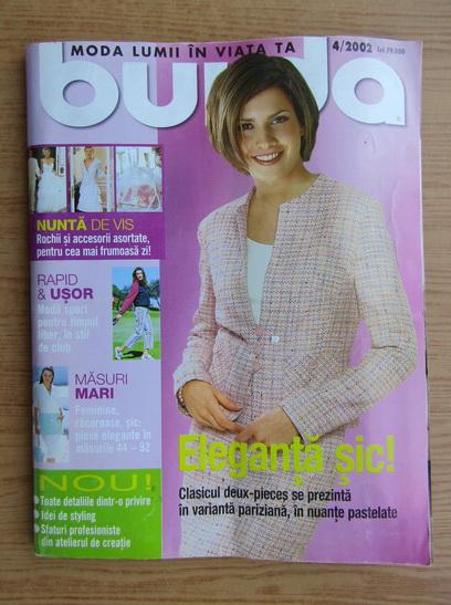 Anticariat: Revista Burda, nr. 4, 2002