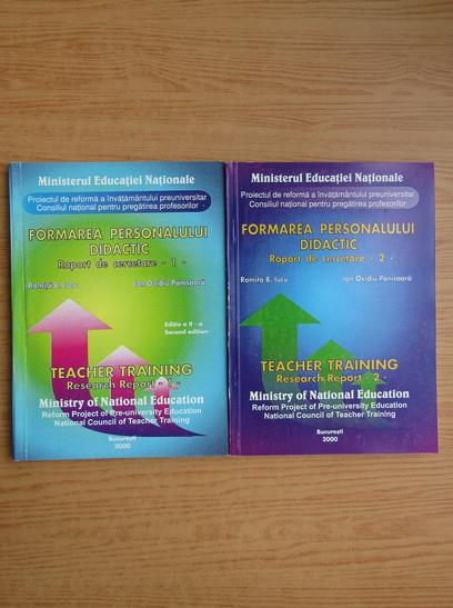 Anticariat: Romita B. Iucu - Formarea personalului didactic. Raport de cercetare (editie bilingva, 2 volume)