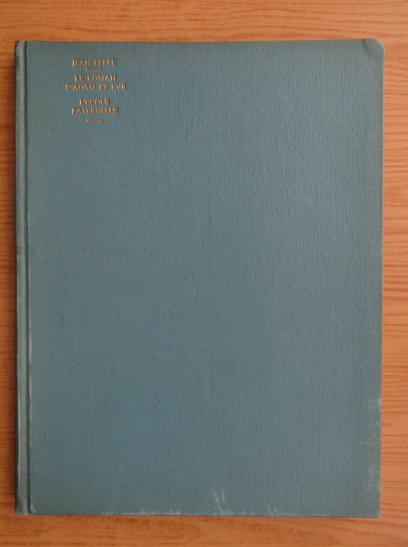 Anticariat: Jean Effel - Le roman d'Adam et Eve. L'ecole paternelle