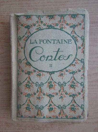 Anticariat: La Fontaine - Contes (volumul 2, 1920)