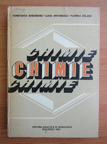 Anticariat: Constanta Gheorghiu - Chimie
