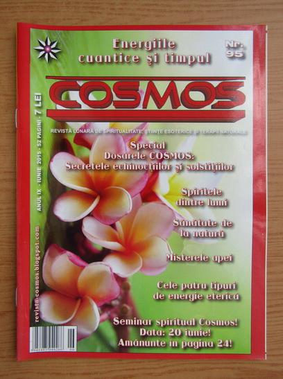 Anticariat: Revista Cosmos, anul IX, nr. 95, iunie 2015