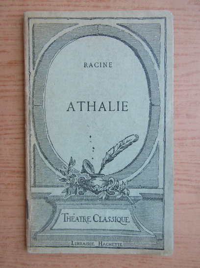 Anticariat: Racine - Athalie