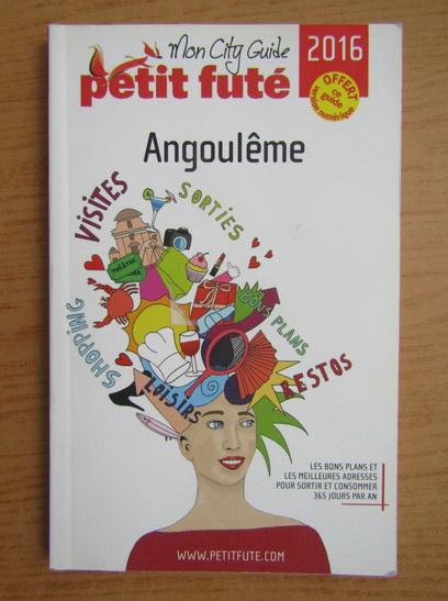 Anticariat: Mon city guide. Angouleme