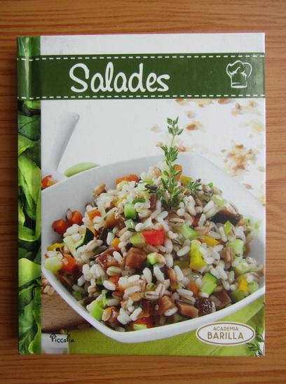 Anticariat: Salades. Academia Barilla