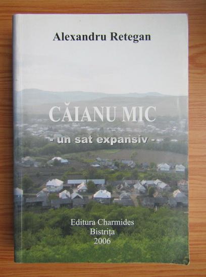 Anticariat: Alexandru Retegan - Caianu mic, un sat expansiv