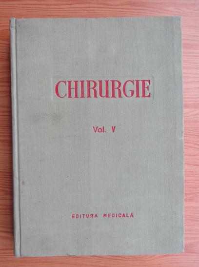 Anticariat: Chirurgie (volumul 5)