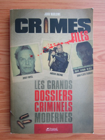 Anticariat: John Marlowe - Crimes files