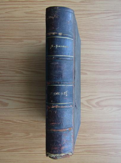 Anticariat: Mihai Eminescu - Poesii. Poezii postume (2 carti coligate, 1903)