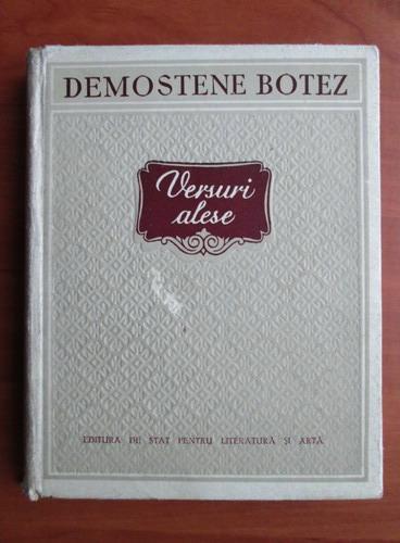 Anticariat: Demostene Botez - Versuri alese