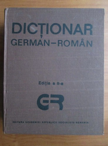 Anticariat: Dictionar German-Roman (mare)