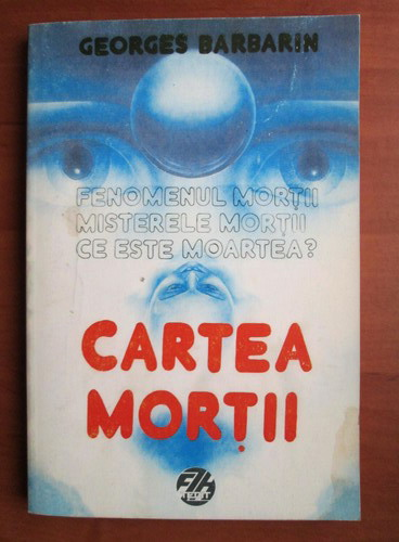 Anticariat: Georges Barbarin - Cartea mortii