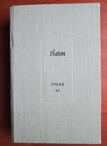 Anticariat: Platon - Opere (volumul 6)