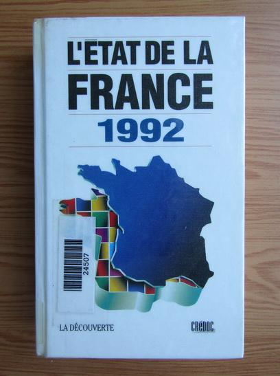 Anticariat: L'etat de la France