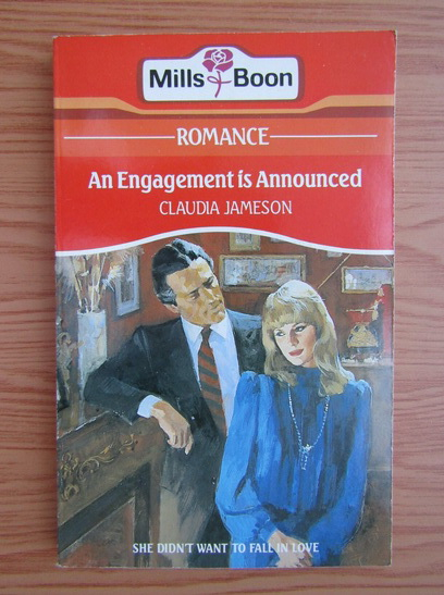 Anticariat: Claudia Jameson - An engagement is Announced