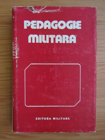 Anticariat: Pedagogie militara