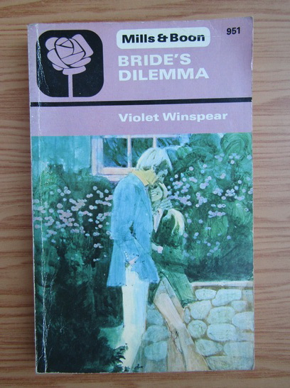 Anticariat: Violet Winspear - Bride's dilemma