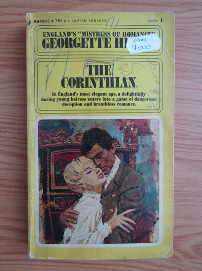 Anticariat: Georgette Heyer - The corinthian