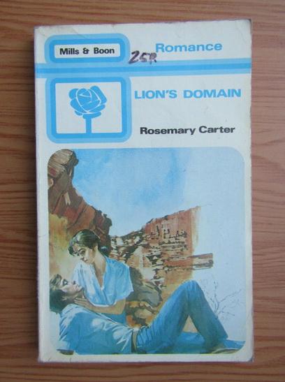 Anticariat: Rosemary Carter - Lion's Carter