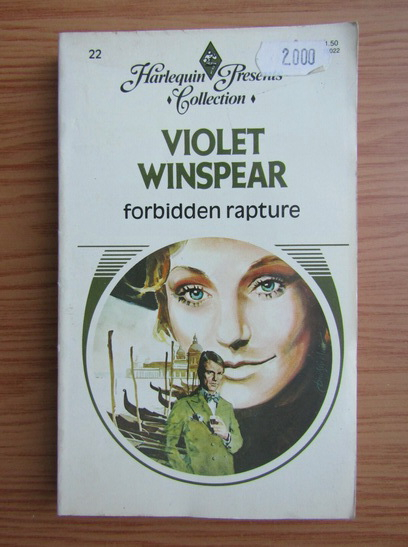 Anticariat: Violet Winspear - Forbidden rapture