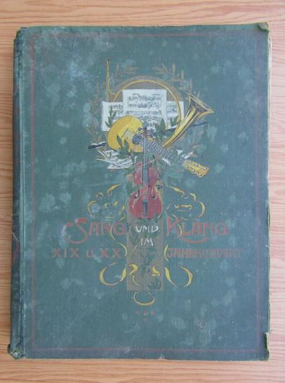 Anticariat: Klassiche und salon-musk (volumul 4, 1920)