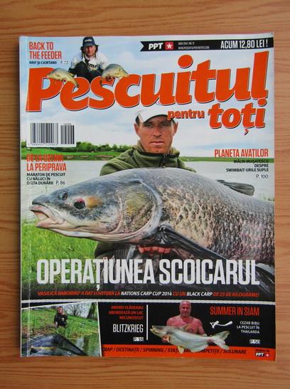 Anticariat: Revista Pescuitul pentru toti, nr. 12, vara 2014